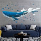 Whale Wall Sticker Submarine Ocean Children Room Decoration Sticker Detachable Skin and Sticker Art