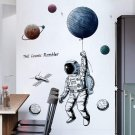Astronaut Wall Decals Wall Stickers for Bedroom Cosmonaut Wall Mural as Wall Decor for Living Room
