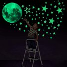 Glow in The Dark Stickers 435 pcs Konsait Luminous Moon Dots Stars Wall Ceiling Decal Murals