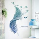 Wall Sticker For Bedroom Feather Wall Sticker Wall Decor Window Cupboard Wall Decal