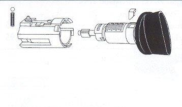 Ford 8-Cut ignition lock-707624