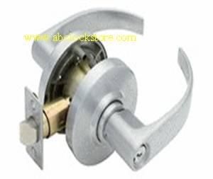 General lock grade 2 lever entry lock set with MEDECO high security cylinder.
