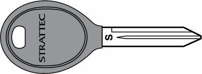 Chrysler 84 grove RFID key blank 692352
