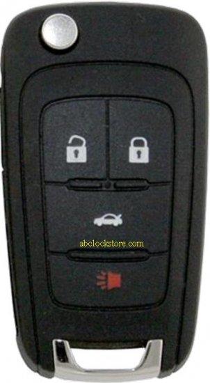 2010 Chevy 4 button remote key 5912543