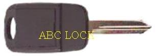 Ilco clonable transponder key for chrysler Y160-EK3