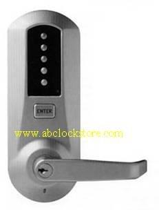 KABA Simplex 5021 push button lock with 613 fnish