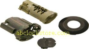 1990-1995 Ford door lock uncoded (CHROME FACE CAP) D-42-221