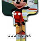 Disney new Mickey mouse KW1 house key D37-KW1