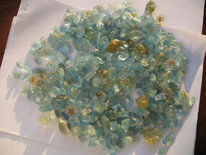 Mozambique aquamarine