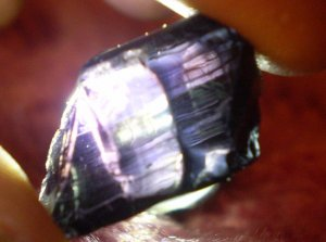 1 of lot of 4 Rare Purple tourmaline from Mozambique