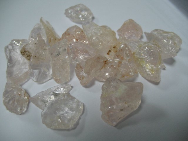 100 grams Morganite