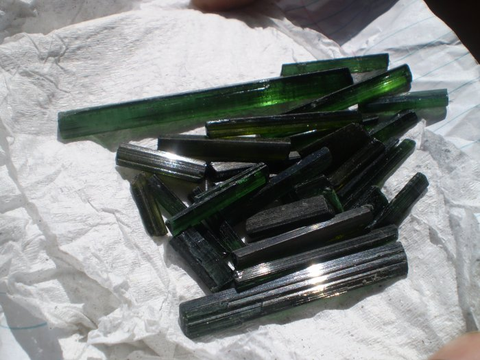 Green Tourmaline 39 grams
