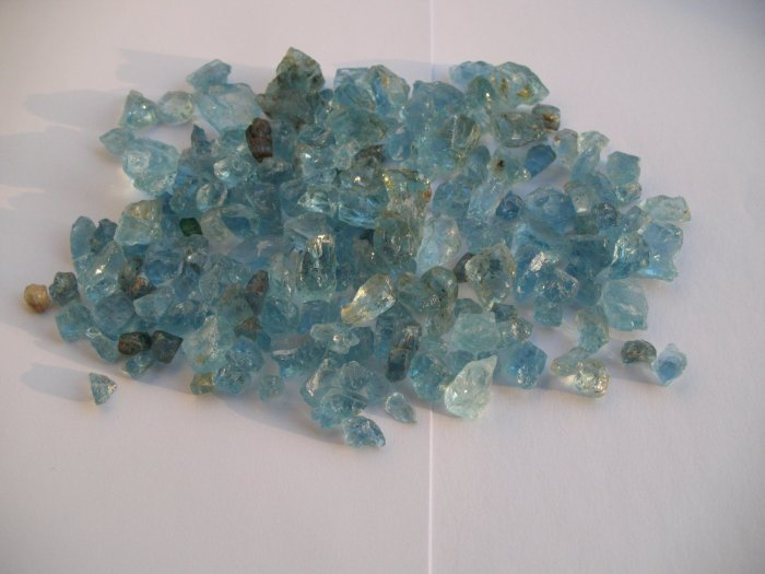 Blue Aquamarine 600 grams
