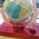 Russian Soviet desk Electric Lamp globe Earth