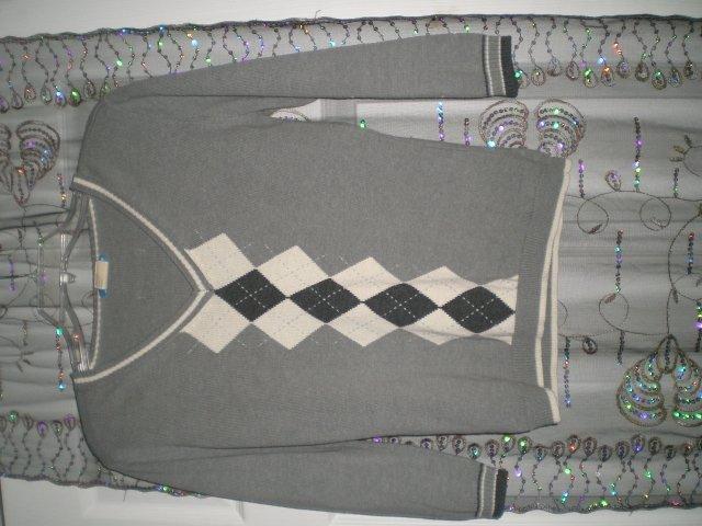 Grey Dockers Sweater