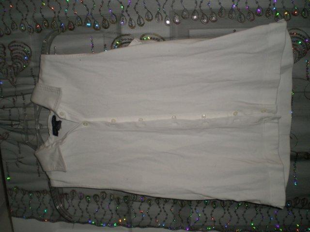 White Ann Taylor Shirt