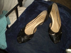 CL open toe Flat Shose