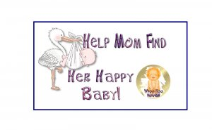 12 Stork Baby Shower Party Favors Scratch Off Game Tickets PERSONALIZED