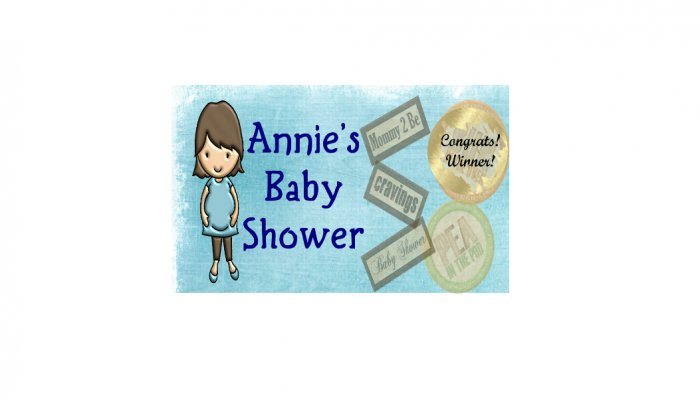 12 Blue Baby Boy Shower Party Favors Scratch Off Game Tickets PERSONALIZED