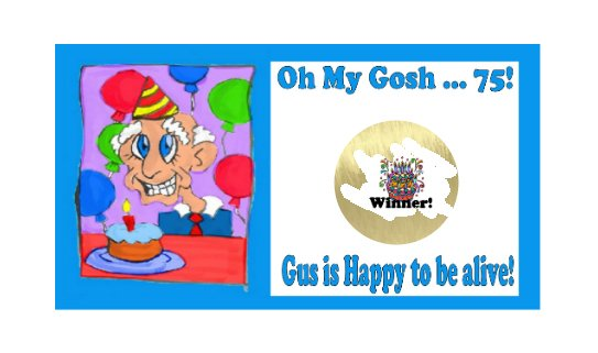 12 Birthday 75th Favors Scratch Off Game Tickets PERSONALIZED
