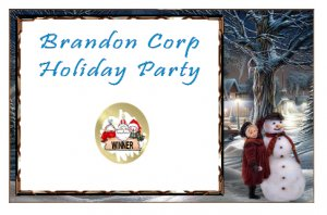 12 Christmas Holiday Party Favors Scratch Off Game Tickets PERSONALIZED