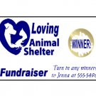 200 FUNDRAISER Scratchoff Game Tickets Pet Shelters and Animal Organizations
