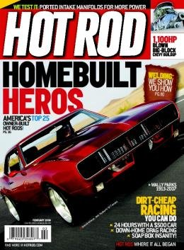 Hot Rod Magazine 1 Year Subscription, 12 Issues