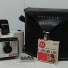 Vintage Polaroid Swinger Model 20 w/ Case & Bulbs
