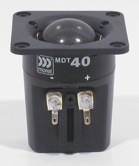 Morel MDT-40 28mm Compact Dome Tweeter