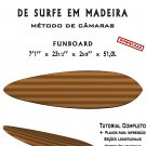 Building Wooden Surfboards - Funboard 7'1'' Ebook/Tutorial/Download/Plans