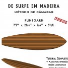 Building Wooden Surfboards - Funboard 7'2'' Ebook/Tutorial/Download/Plans
