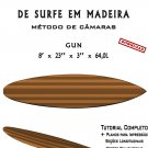 Building Wooden Surfboards - Gun 8' Ebook/Tutorial/Download/Plans