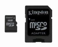 Kingston - 1 GB Micro SD Memory Card