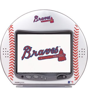 Hannspree 10-Inch MLB Braves LCD Television