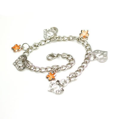 bxsj1004 Sea Star Anklet (orange)