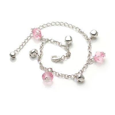 bxsj1006 Bell Anklet (pink)