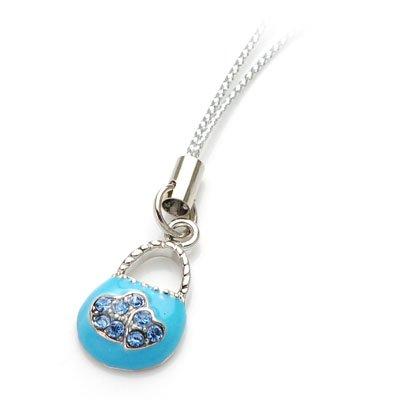 axsj10007 Lady  purse cell phone accessory (blue)