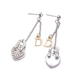 exsj1029 Capital D Earring