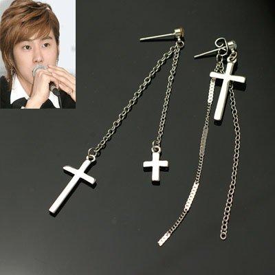 exsj1078 Cross Earring