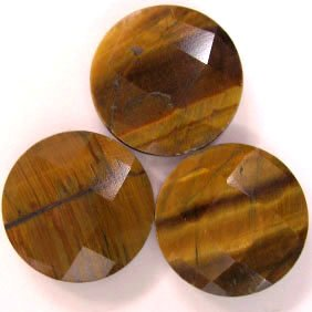 Faceted Tiger Eye Gemstones - 60 karats - JEWELRY DREAMS item GSTE1