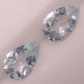 Pear Aquamarine Gemstones - JEWELRY DREAMS item GSAQ1