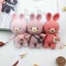 Amigurumi crochet handmade Bonny the Bunny doll gift for kids