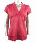 Shimmery Stretch Knit Top (Plus Size)-0352WN-JA104-b2b