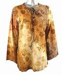 Velvet Flocking Cotton Top (Plus Size)-4513BR-ES204-b2b