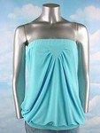 Stretch Knit Tube Top (Plus Size)-2956BL-BI214-b2b