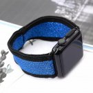 42mm Black/Blue Stretchy Loop Apple Watch Band[RNCCS4000438997640BLKBLU42]
