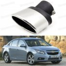 Silver Car Exhaust Muffler Tip Tail Pipe Trim for Chevy Cruze 2009-2015