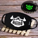 Cool and Hard To Find SKull Glow In Dark Cartoon Cosplay Cotton Dustproof Mask