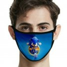 Super Sonic The Hedgehog 16 Designs Adult Face Mouth Mask Soft Washable FREE