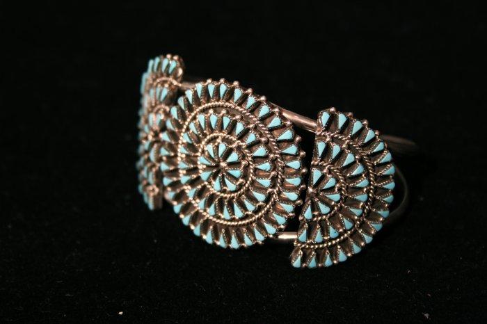 Needlepoint Handmade Indian Bracelet-8